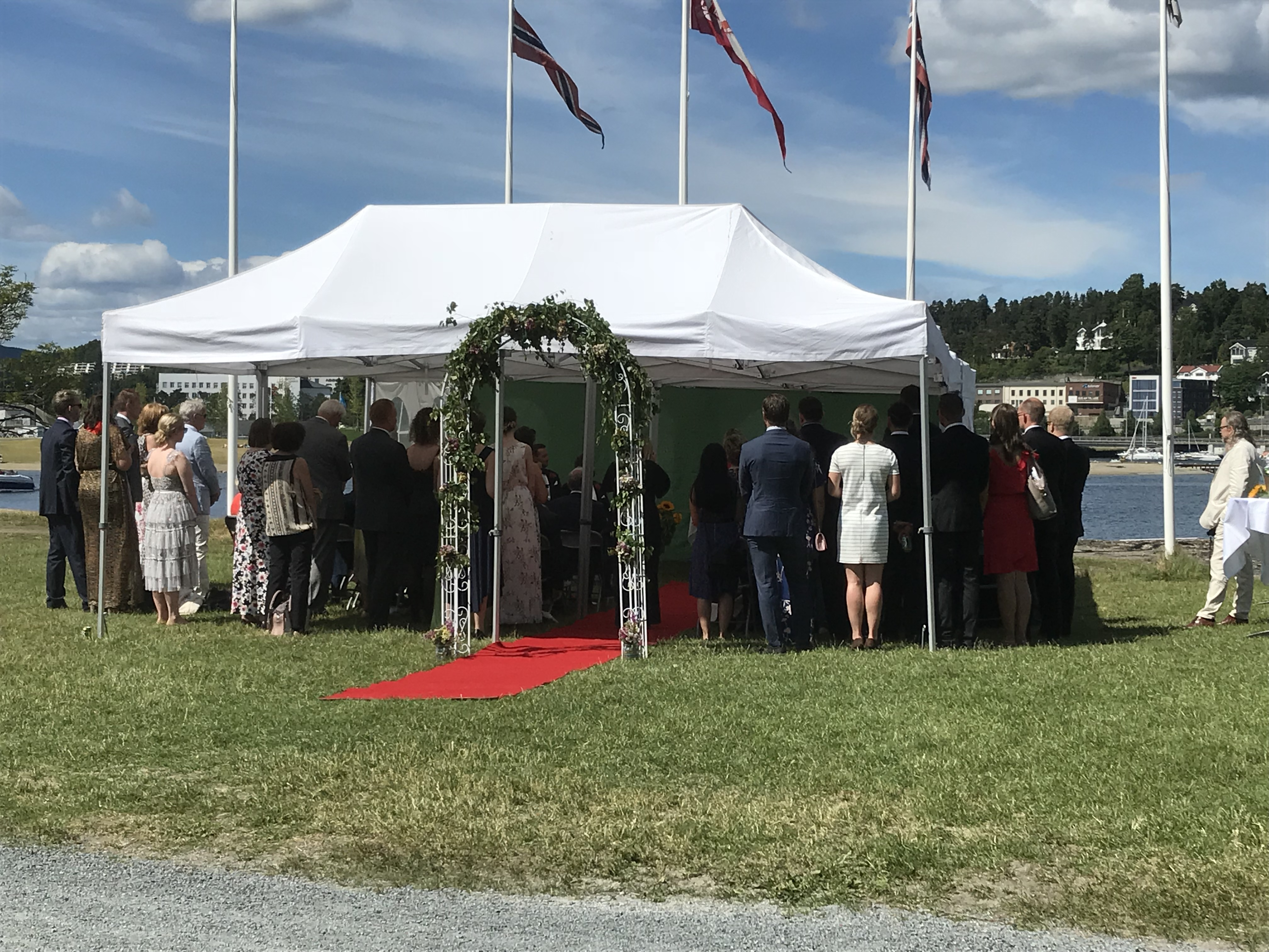 Bryllup på Båtsportens Hus Foodoccasion